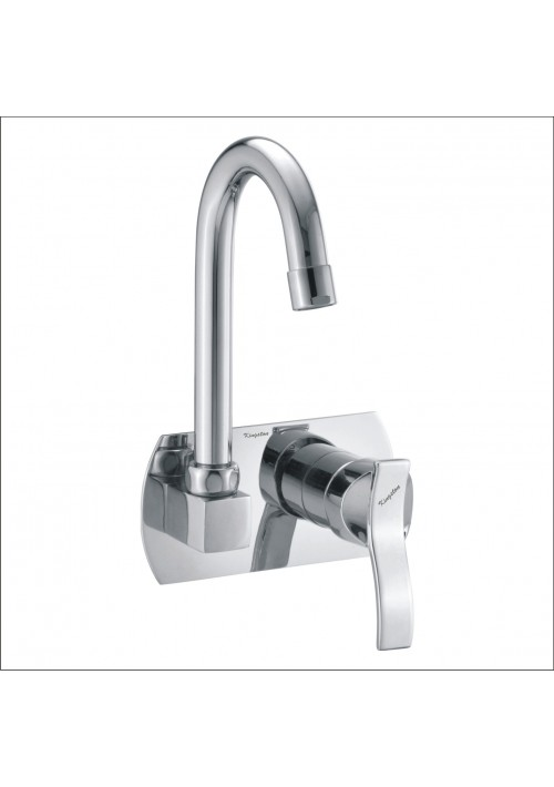 Aspire Collection / C.P. Single Lever Concealed Sink Mixer with Spout Wall Mounted