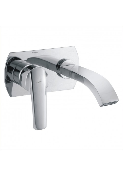 DIGNITY COLLECTION / C.P. SINGLE LEVER CONCEALED BASIN MIXER WITH SPOUT WALL MOUNTED