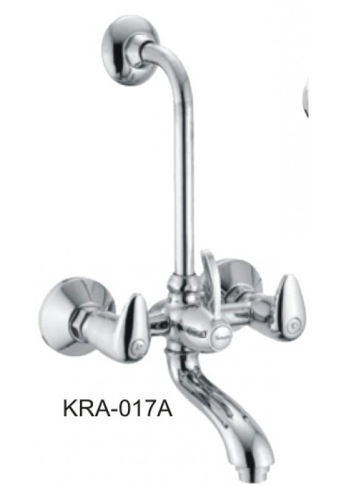 ROSA / WALL MIXER WITH BEND