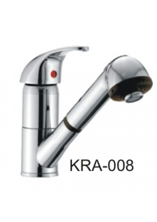 ROSA / SINGLE LEVER SINK MIXER PULLOUT SHOWER
