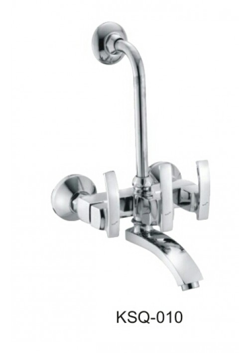 SQWAVE ROYAL SERIES /  WALL MIXER WITH BEND ARRANGEMENT FOR OVER HEAD SHOWER